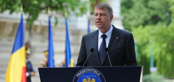Klaus Iohannis a susținut un discurs succint