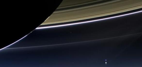 Saturne par la sonde Cassini, publication NASA