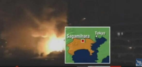 Explozie la un depozit SUA din Japonia