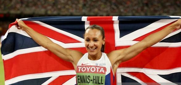 Jessica Ennis-Hill won gold in heptathlon