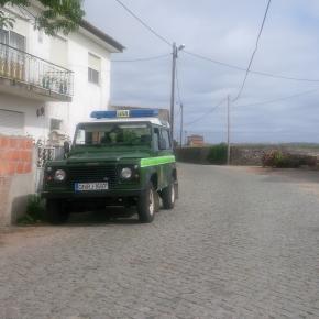 GNR de Esposende esteve no local esta manhã.