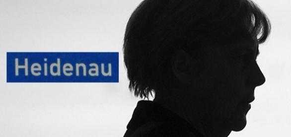 Nicht willkommen in Heidenau: Kanzlerin Merkel