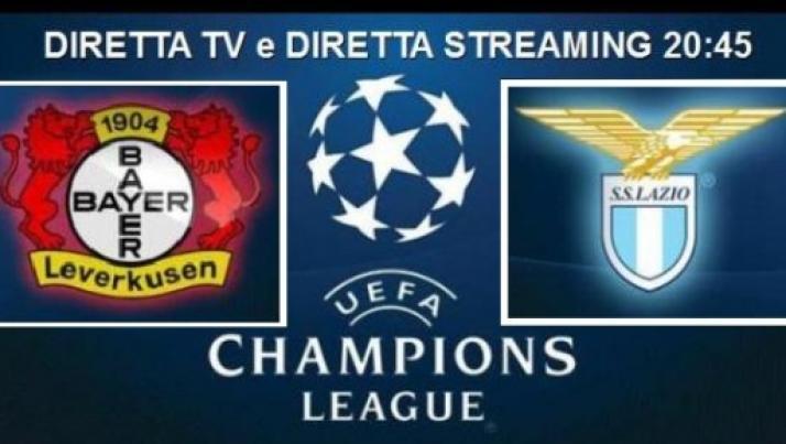 Dove Vedere Champions League Bayer-Lazio, Stasera 26/08