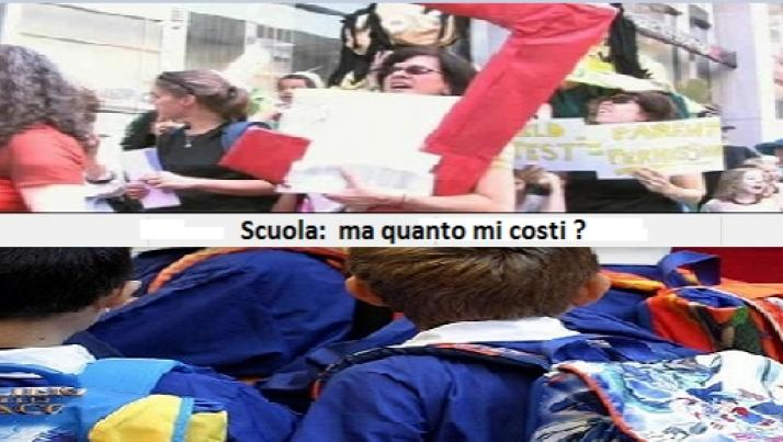 Scuola e famiglie italiane: il salasso è servito e lo Stato ringrazia