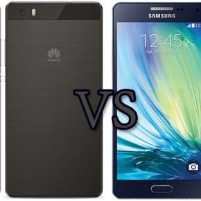 Huawei P8 Lite vs Samsung Galaxy A5