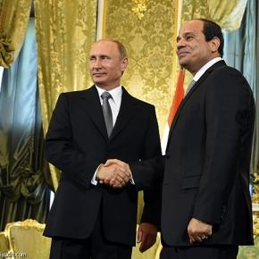 Vladimir Poutine reçoit Abdelfattah Al-Sissi