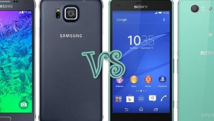 Samsung Galaxy Alpha vs Sony Xperia Z3 Compact: ecco le differenze tra i due smartphone