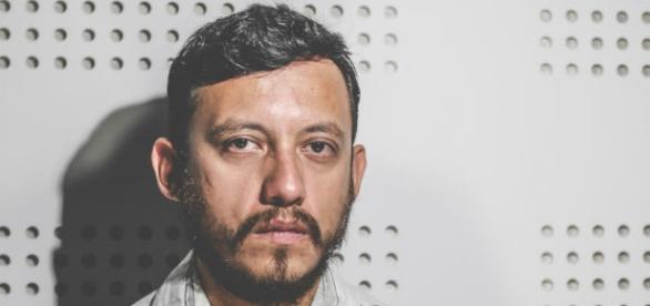 El periodista Rubén M.Espinosa B. Foto Luis Barrón