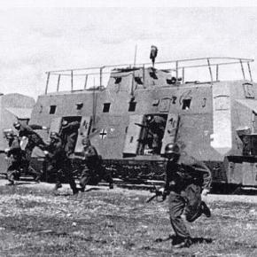 Tren nazist din cel de-Al Doilea Razboi Mondial