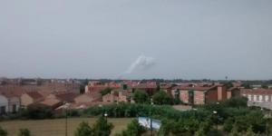 Explosión en una pirotecnia de Zaragoza