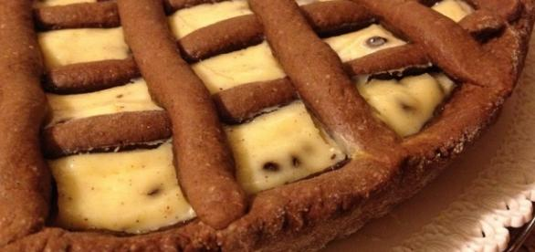 Crostata al cacao e mascarpone