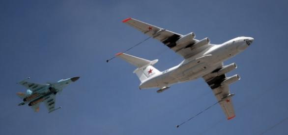 Avioane militare ale Rusiei intr-o misiune unica