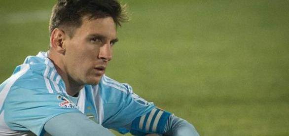 Lionel Messi tem 103 jogos pela selecção Argentina