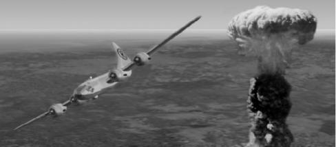 A Hiroshima feletti atombomba robbanása