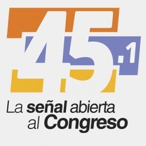 El Canal del Congreso en televisión abierta