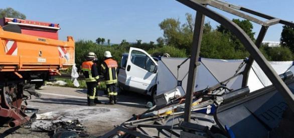 Accident în Germania, doi români au murit