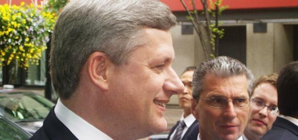 Canada's Prime Minister, Stephen Harper