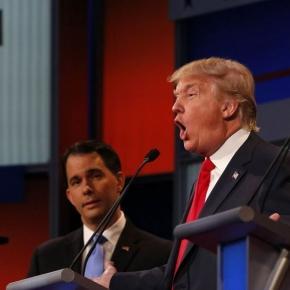 Donald Trump dezlănțuit pe scena din Cleveland