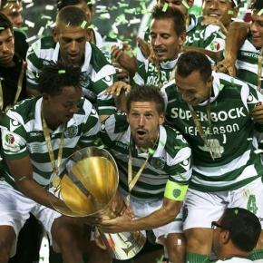 Sporting conquistou a sua oitava Supertaça.