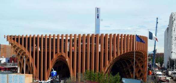 Pavillon français à l'Expo universelle de Milan