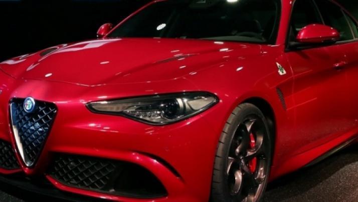 Alfa Romeo Giulia: il V6 ha un suono straordinario