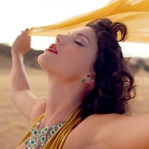 "Taylor Swift in ""Wildest Dreams"""