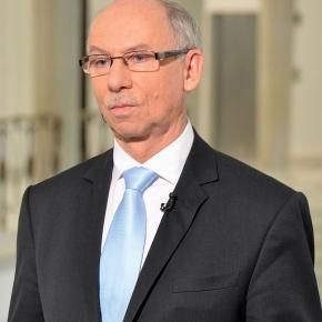 Janusz Lewandowski - Przew.Rady Gospod. PRM.