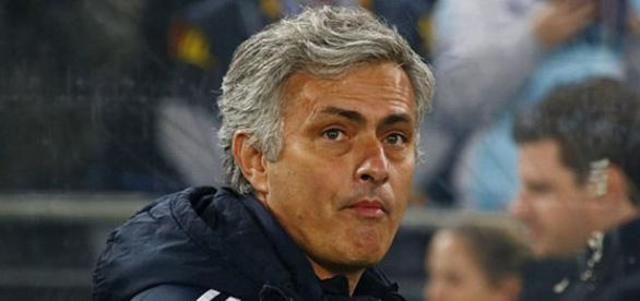 Under pressure manager Jose Mourinho
