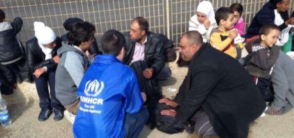 Refugiados sirios. Foto de UNHCR.