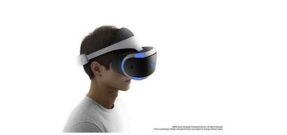 Verpackung Sony Project Morpheus Playstation VR