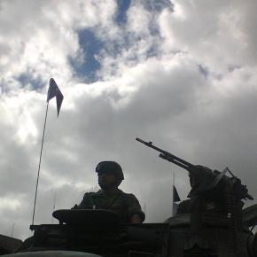 El comandante encargado. Foto Cuauhtémoc Villegas