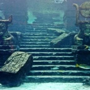 Cidade submersa repleta de mistérios