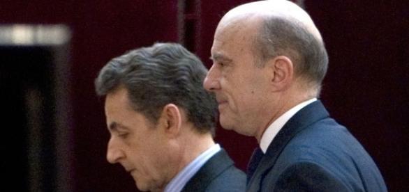 Alain Juppé et Nicolas Sarkozy