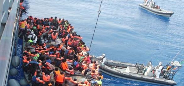 Migrants in Croatia still arriving by boat.