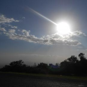 An African sunset: Conflict slows down development