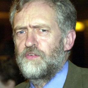New UK Labour party leader Jeremy Corbyn