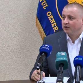 Seful poliției moldovene confundat cu infractor
