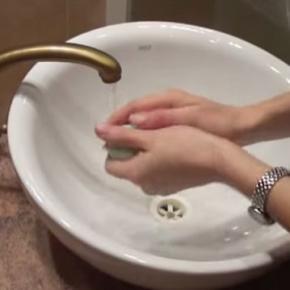 Mycie rąk jest ważne dla zdrowia.