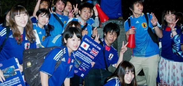 Joy for Japanese fans at Rugby World Cup