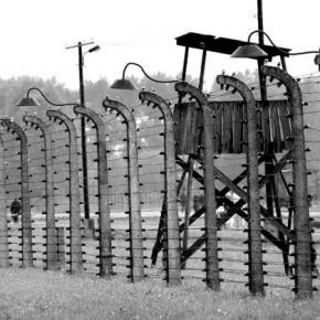 Niemiecki obóz koncentracyjny Auschwitz.