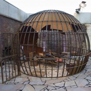 Schöner Wohnen ist anders: Strafbereich im Freien!