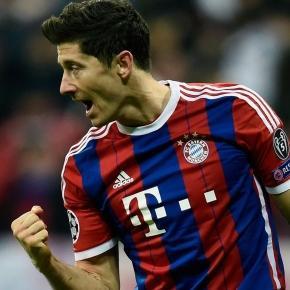 Lewandowski strzelił Wolfsburgowi 5 goli w 9 minut