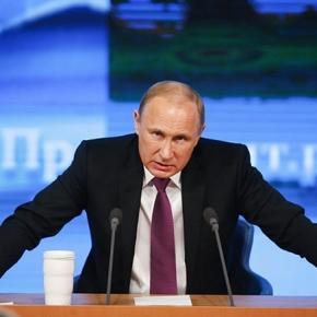 Presedintele Rusiei Vladimir Putin reactioneaza