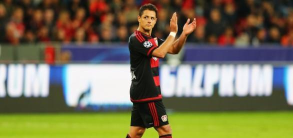 Javier Hernández se estrenó en la Bundesliga