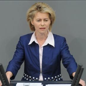 Unter Beschuss: Ursula von der Leyen (CDU/CSU)