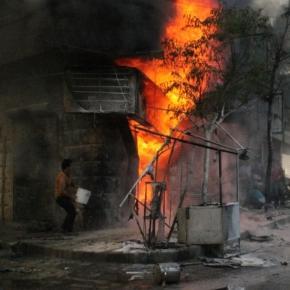 Starcia na Bliskim Wschodzie. Syria.