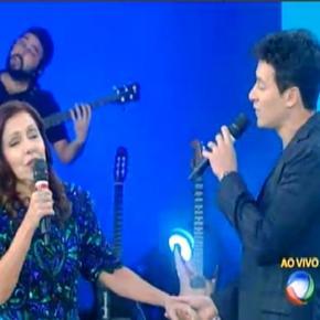 Rodrigo Faro no programa Xuxa Meneghel