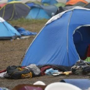 Tabăra de refugiați din Olanda