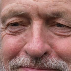The Labour leader Jeremy Corbyn