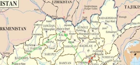 Afghan counterattack hits the province of Kunduz.